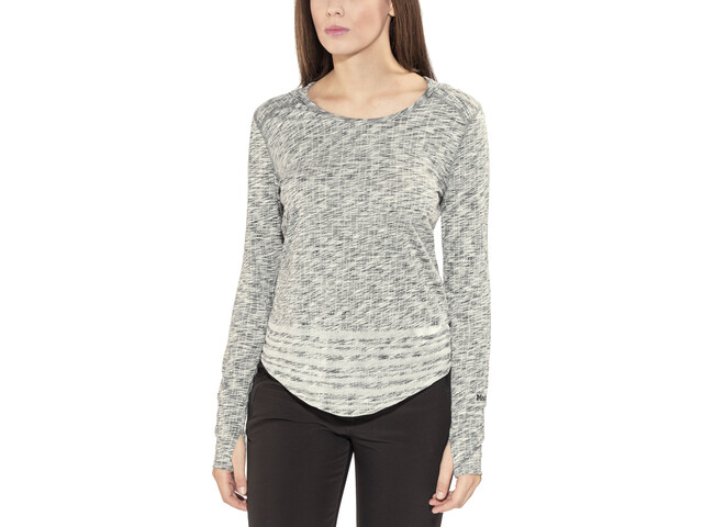 Marmot Natasha Burnout Sweat-shirt à capuche Femme, dark charcoal
